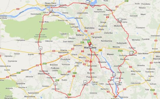 Mapa tdw 250